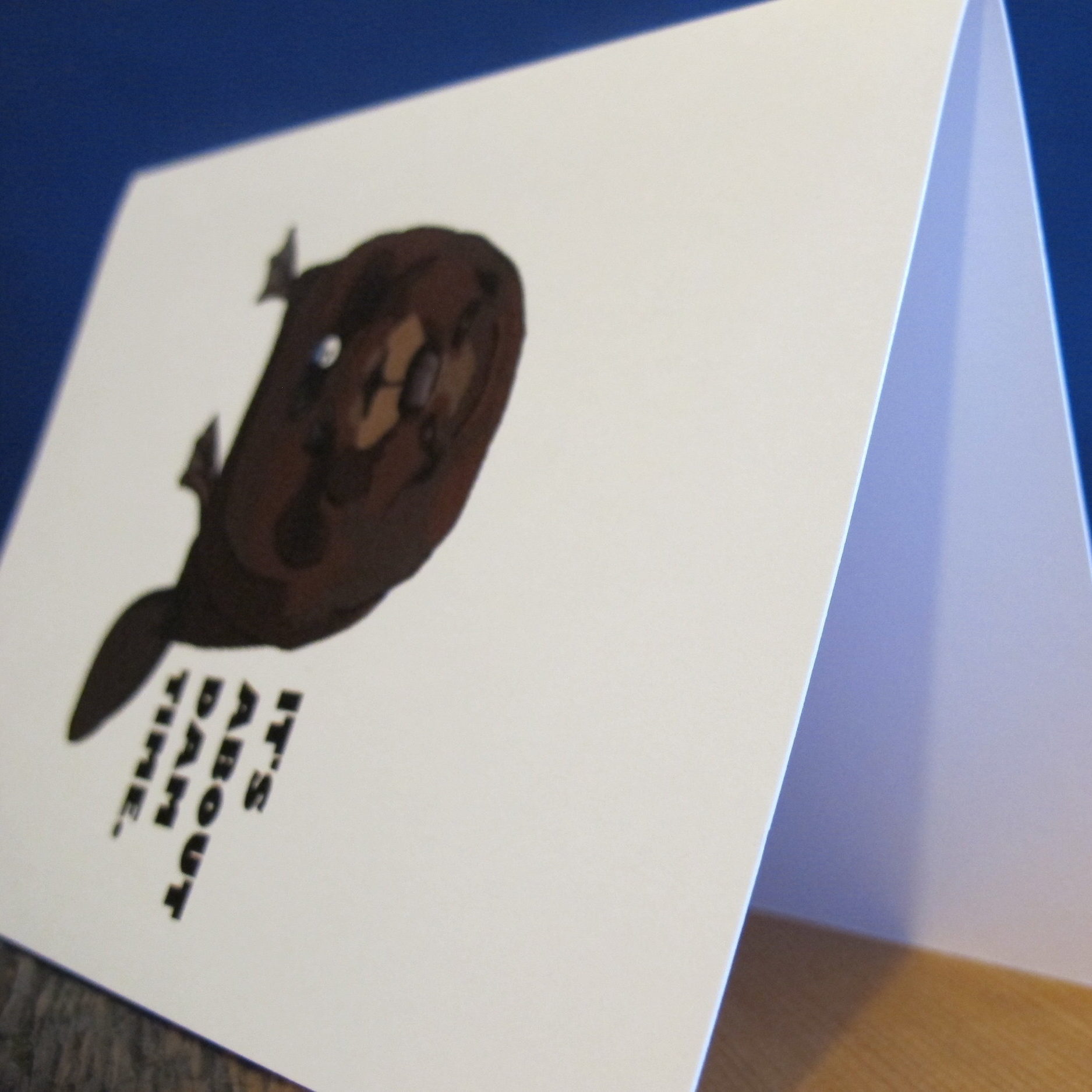 Greeting cards - Puns, animals, and puns about animals.