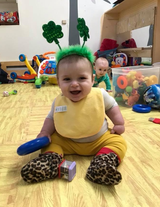 Rowan started daycare -