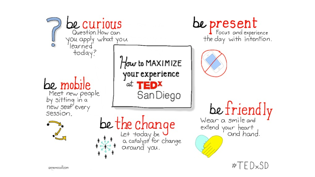 How to experience TEDx