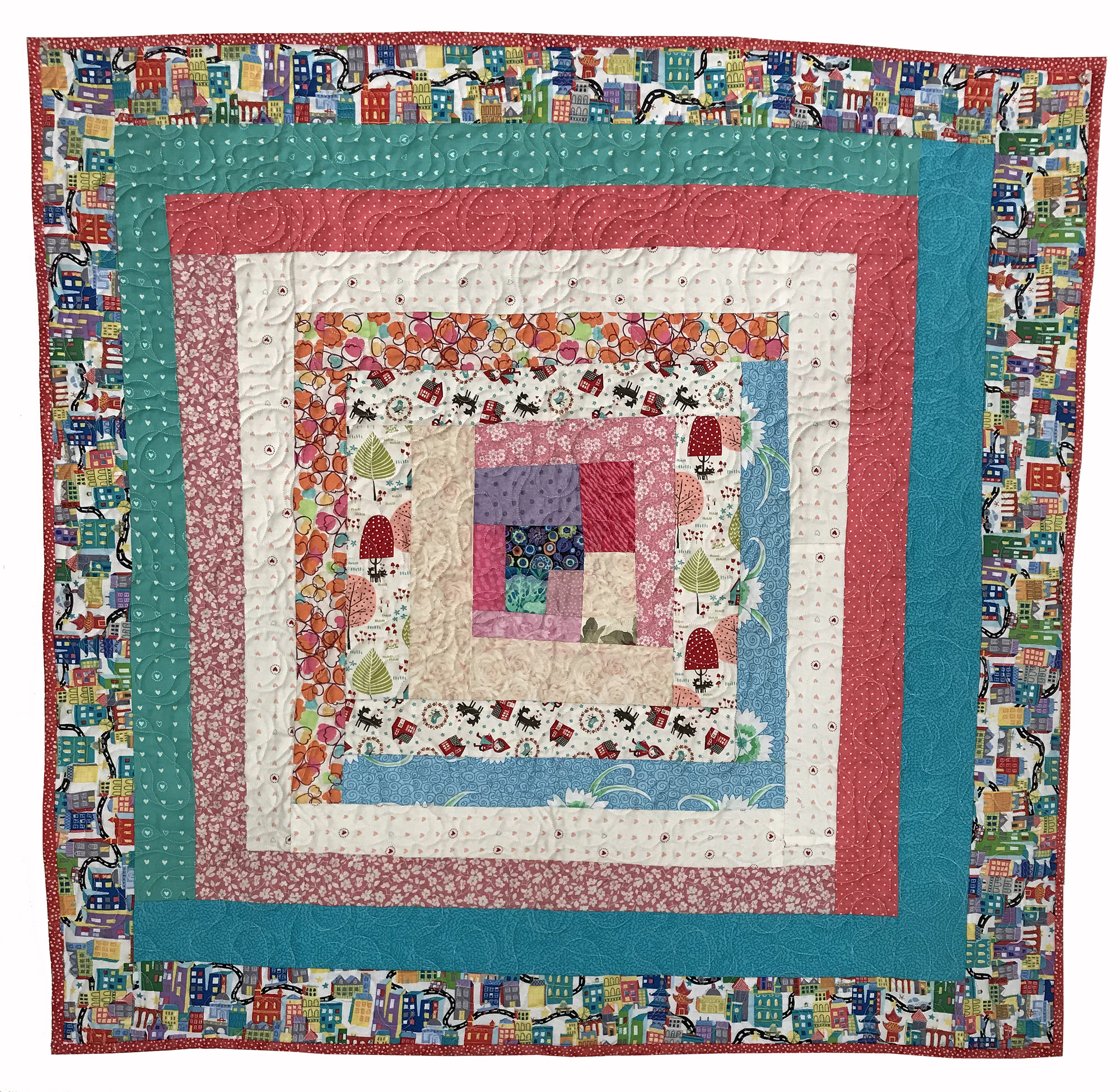 Quilt 8102 What a World