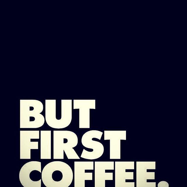 ....the only way to start every day....#becauseitsmonday#caffeinekickstart