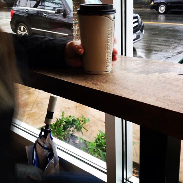 Thanks Jill C. for your West Coast pic.....rockin' her Valet Sleeve! #rainydayinvan