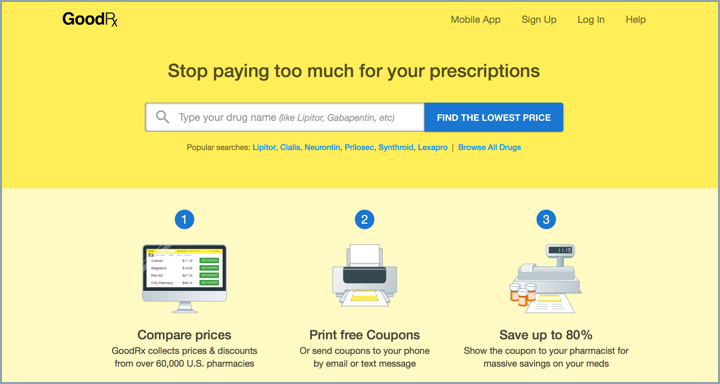 GoodRX - Stop paying too much for prescriptions - Lyme Advise