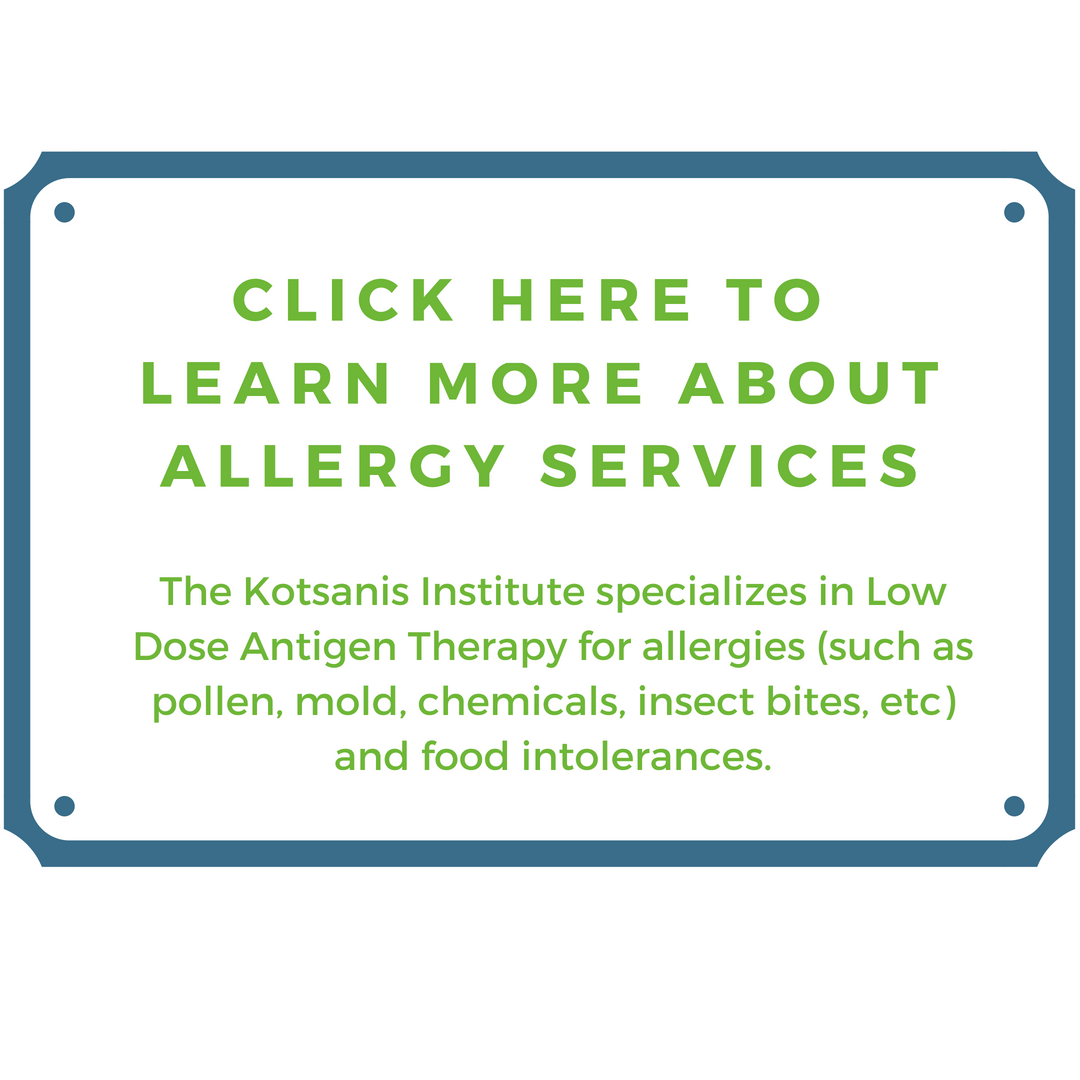 Kotsanis Institute - Allergy Services - Lyme Advise