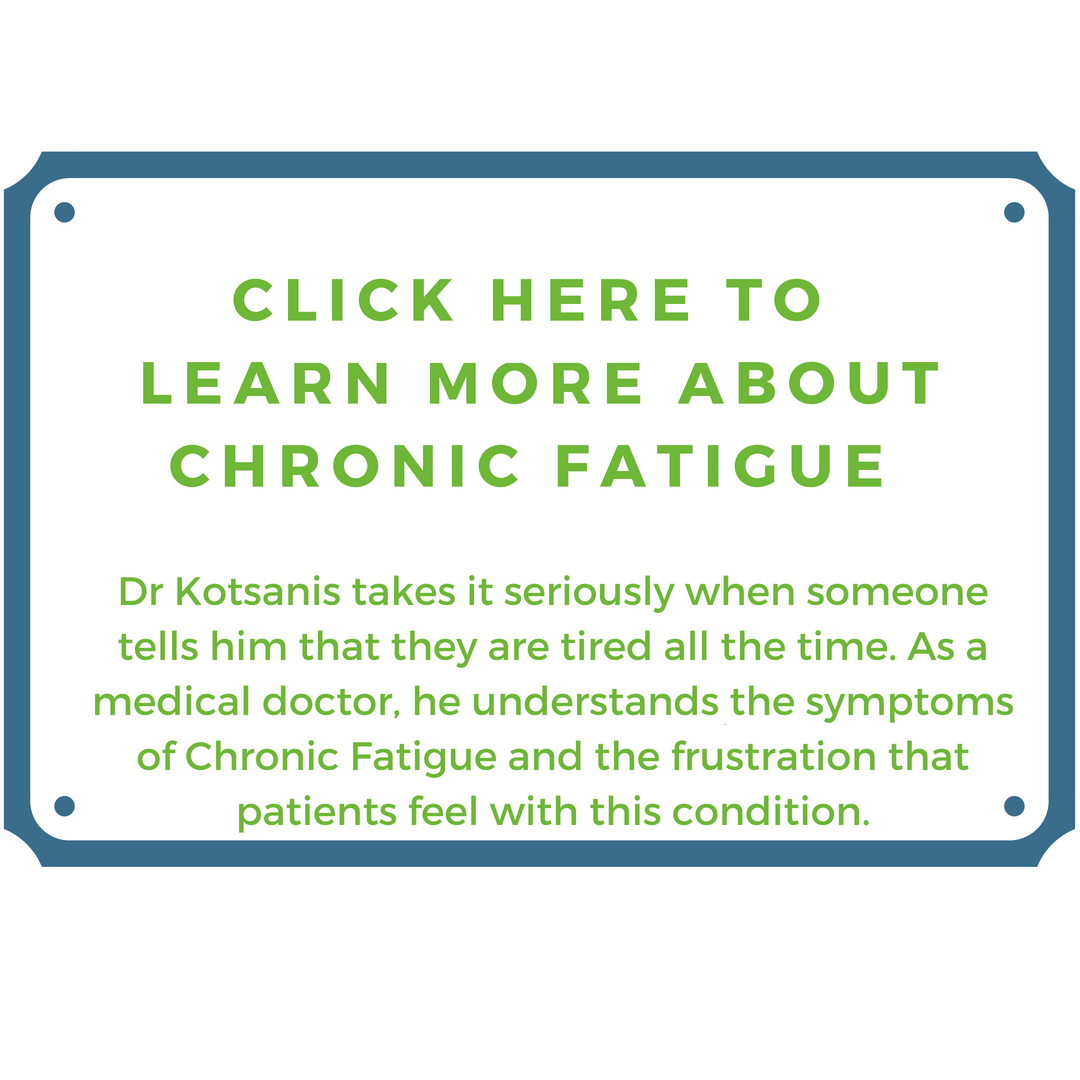 Kotsanis Institute - Chronic Fatigue