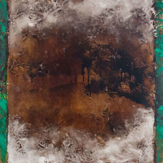 Compagnon de Silence No. 1 by Jean McEwen. On view at the Zwig Foundation Collection.