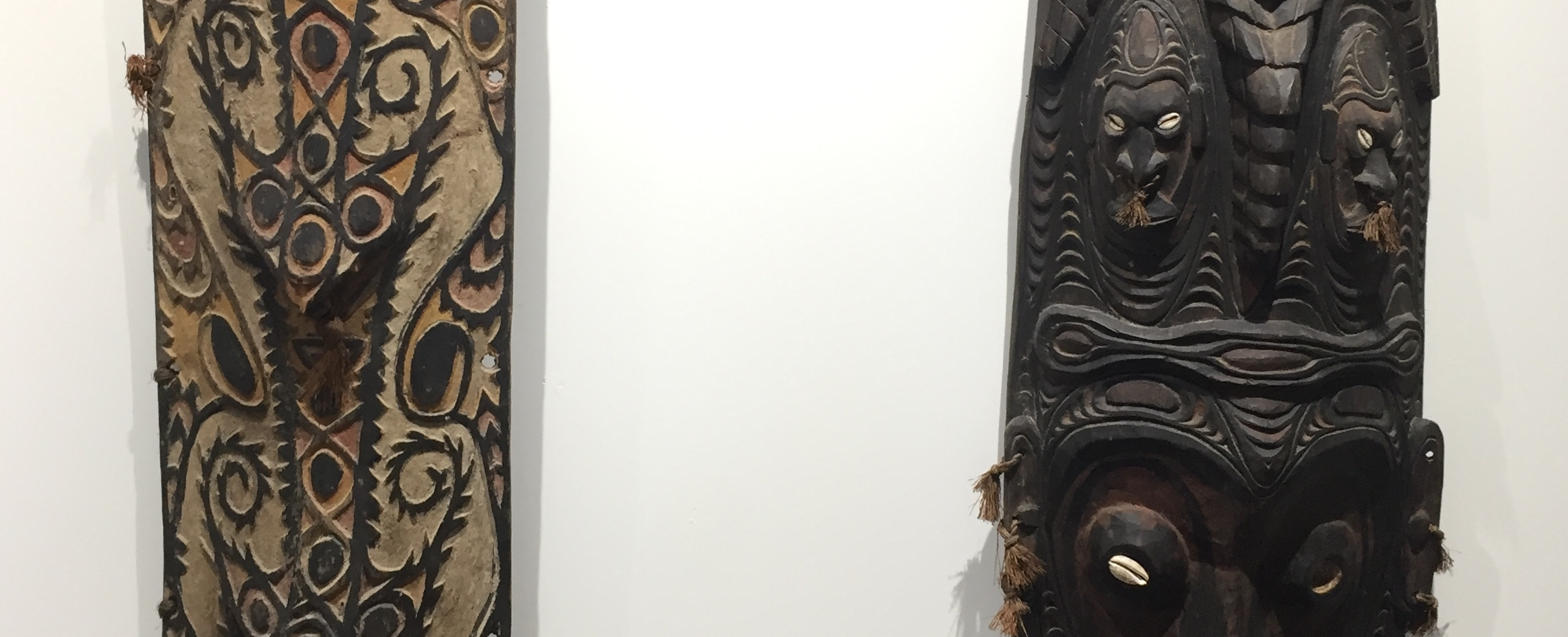 Works from the South Pacific collected during Helen & Walter's travels. On view at the Zwig Foundation Collection.