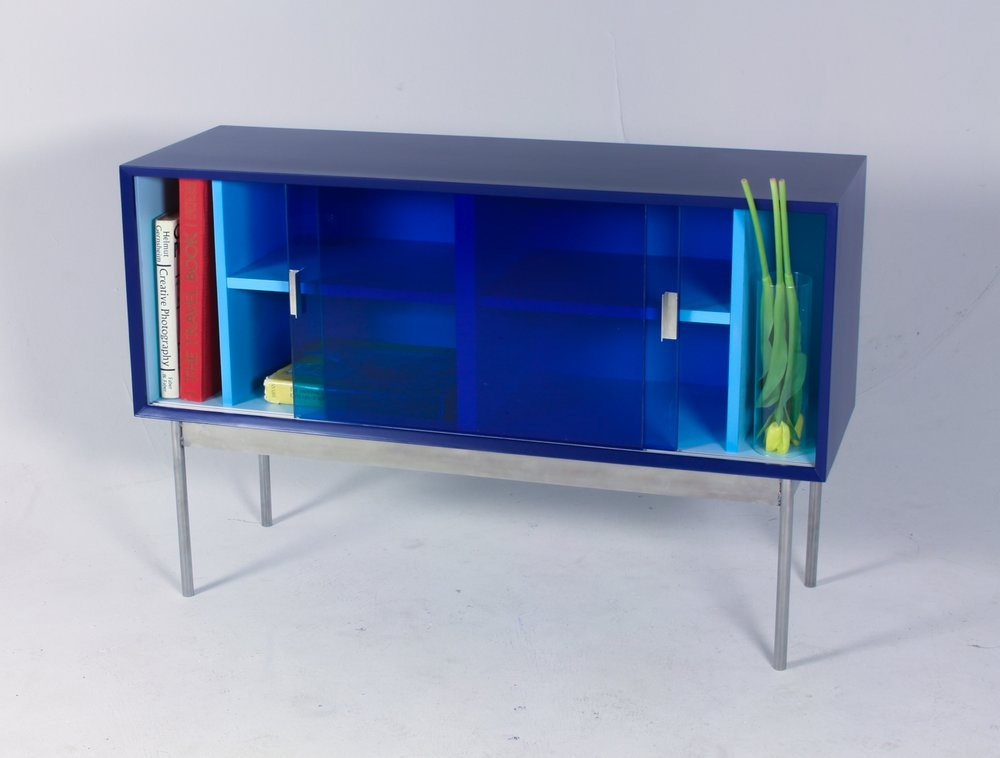 Cabinet for one colour (2018), Nicole Coon.