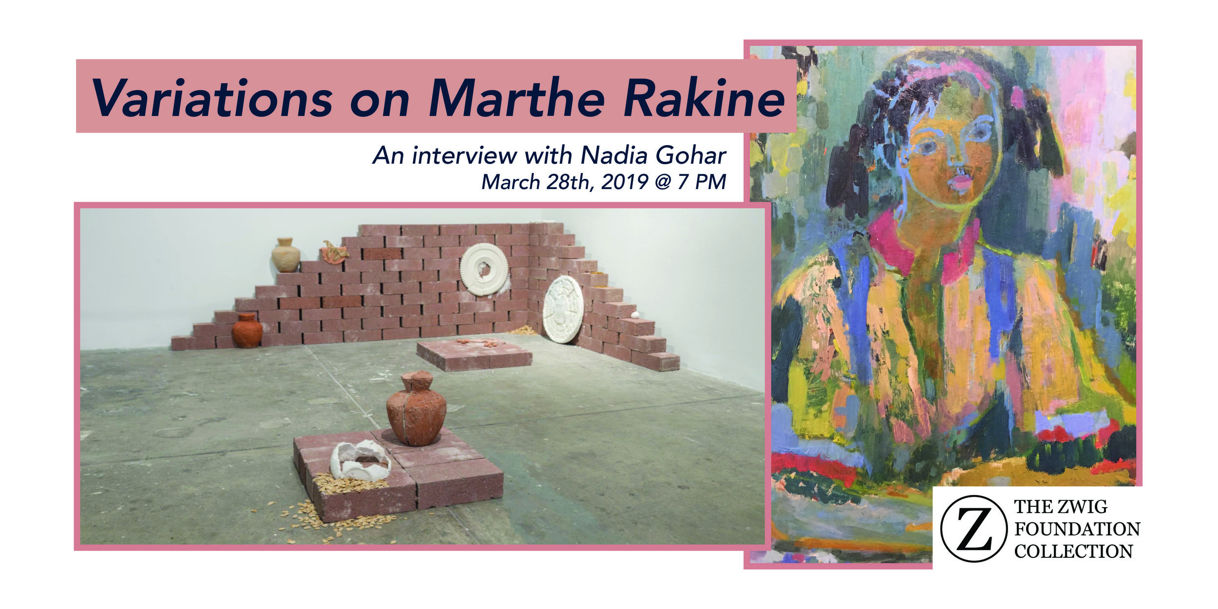 Variations on Marthe Rakine - Nadia Gohar is a Toronto-based artist who explores themes of memory, migration, and objecthood through a multi-disciplinary approach. She received her BFA from the Massachusetts College of Art and Design and has had solo exhibitions with spaces such as SOIL Gallery in Seattle and the Table in Toronto. As well, Nadia has participated in group exhibitions, most recently at the Queens Museum in New York.On March 28th, we spoke with Gohar about the little-known Canadian painter, Marthe Rakine. Through their relaxed self-expression we chatted about the many similarities these two artists have in common.