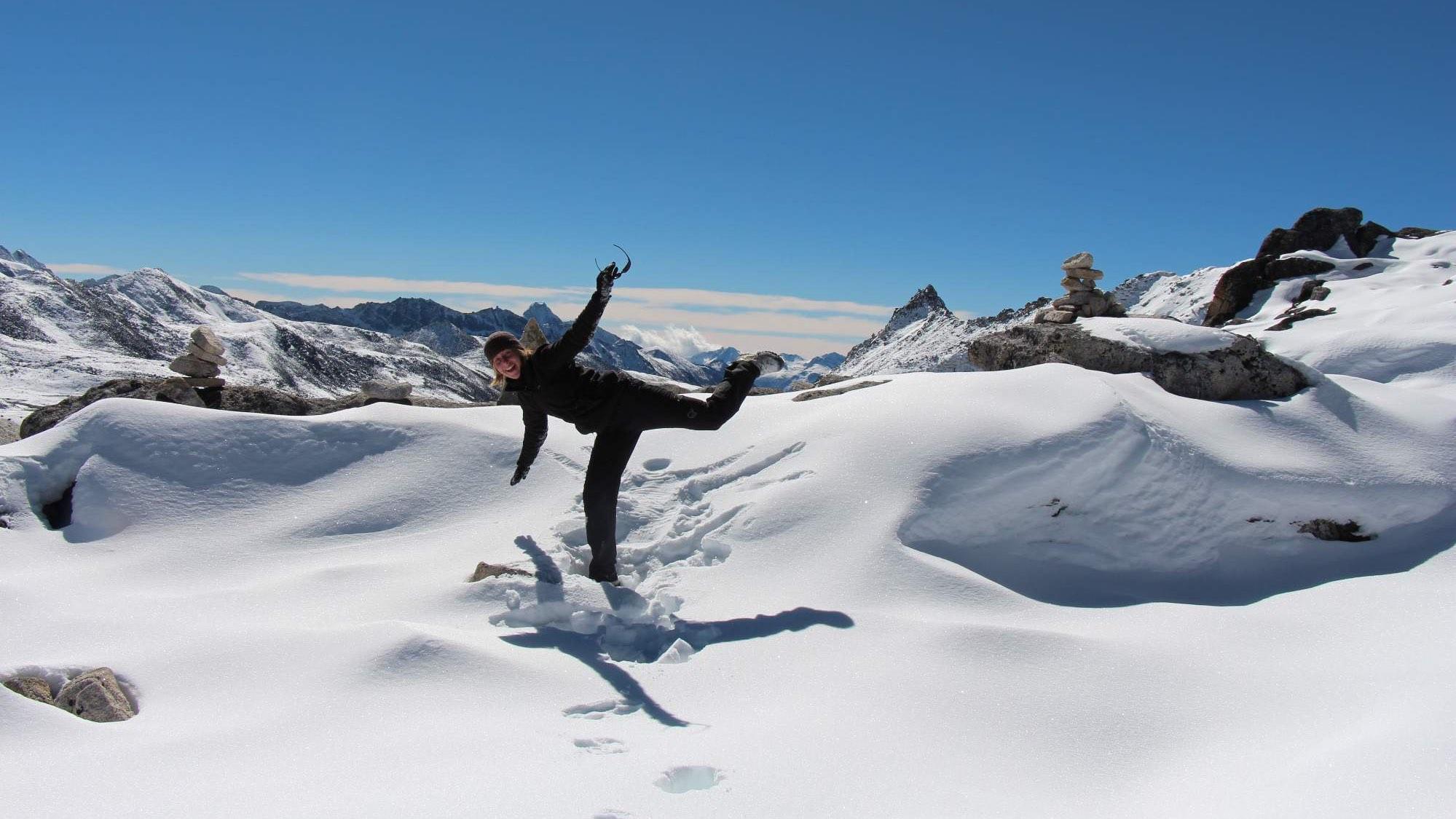 Snowman Trek in Bhutan - Photo: Veronika Švecová