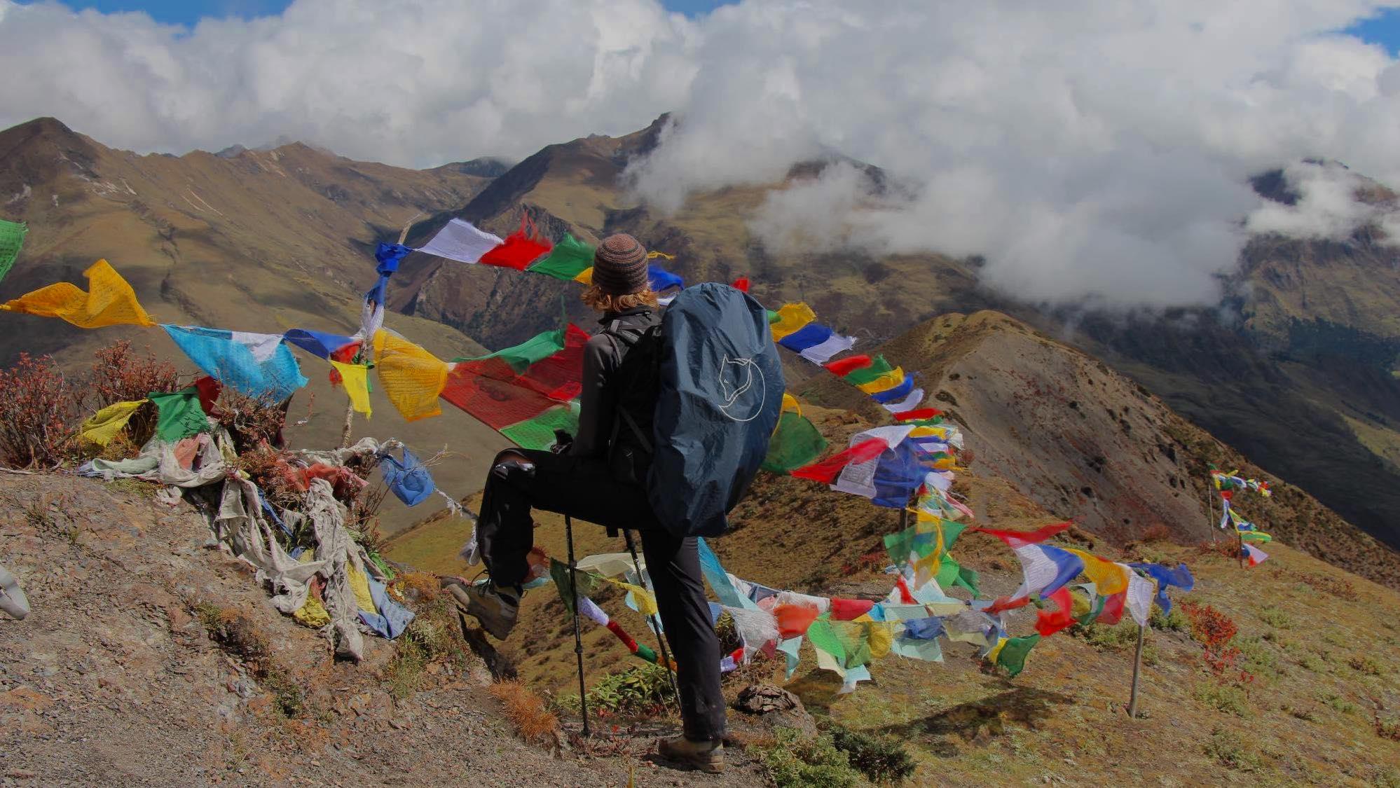 View from the Snowman Trek in Bhutan