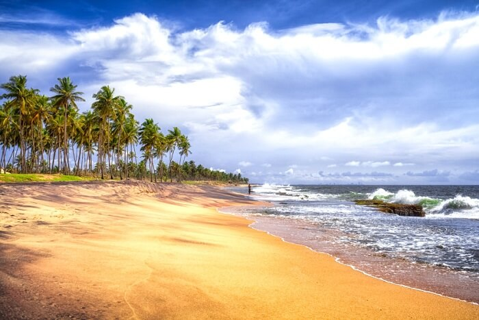 Breath taking beaches of Negambo on the Indian Ocean