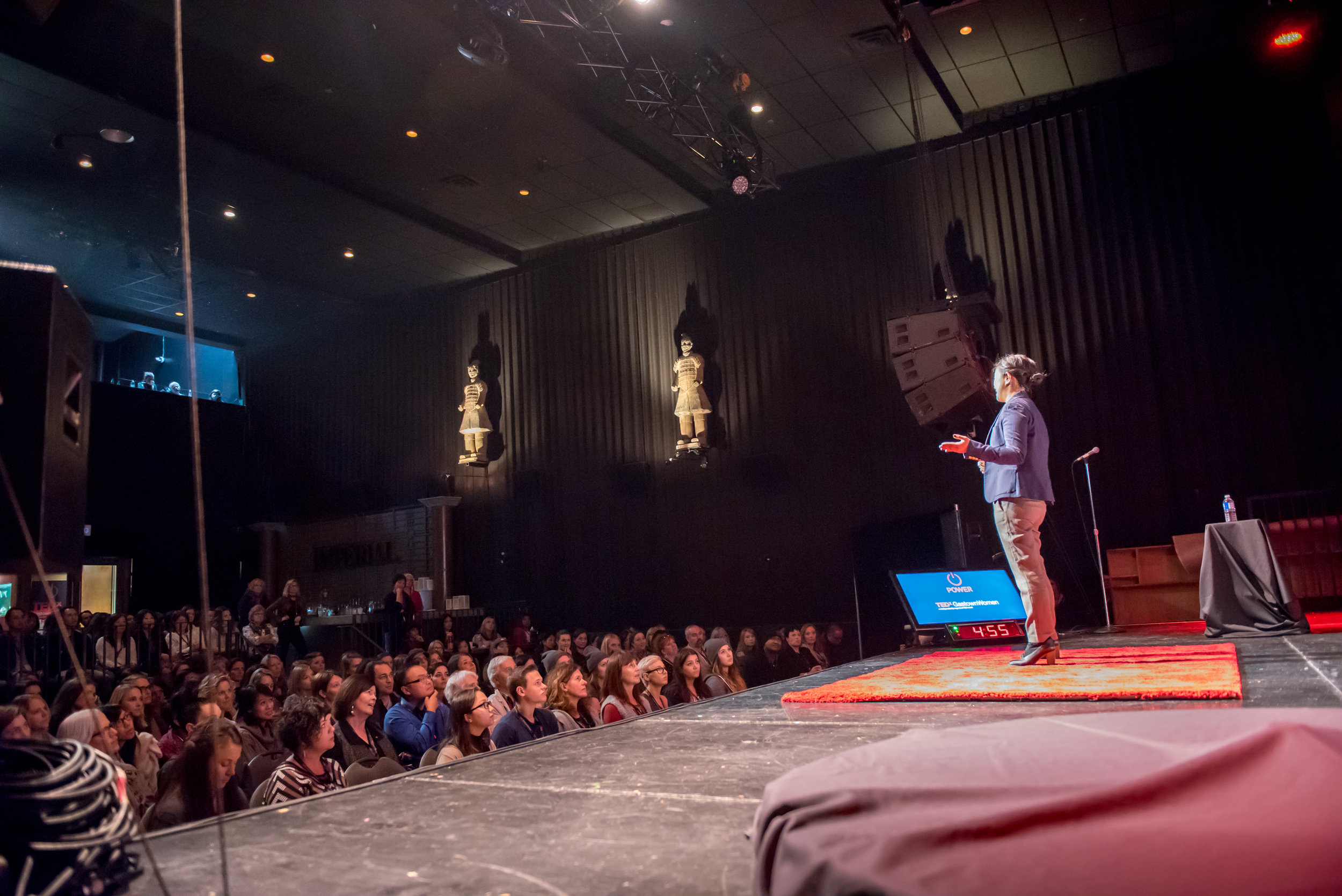 My time on the TEDx stage in Vancouver.
