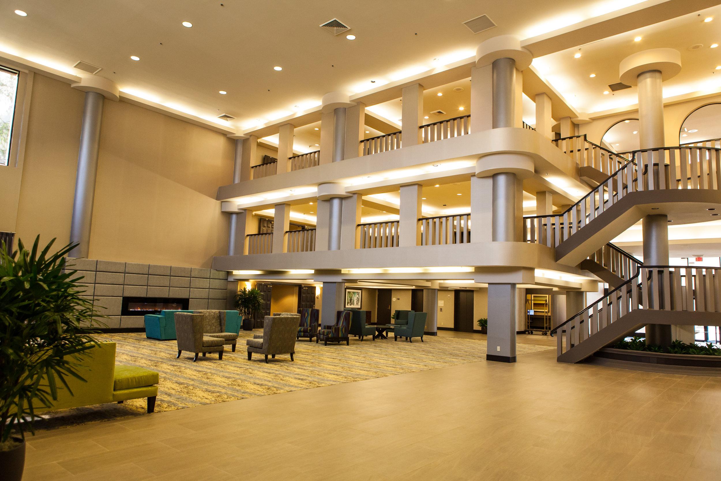 Ontario Gateway Hotel Lobby