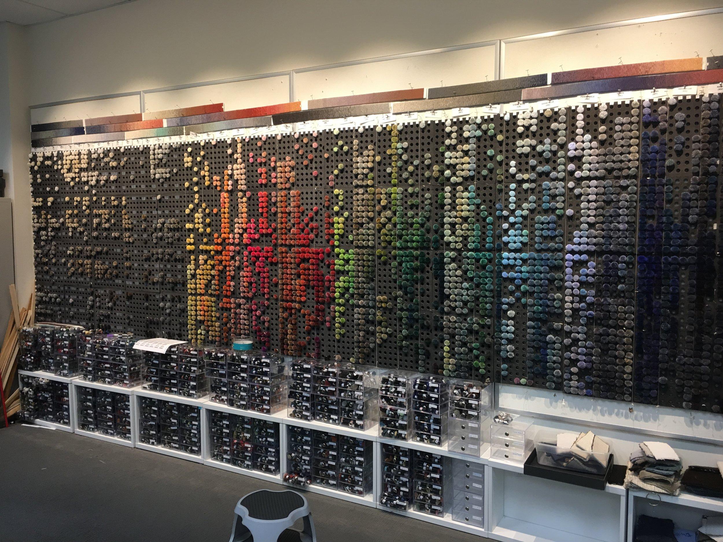 Color blending at Periennials Fabrics -