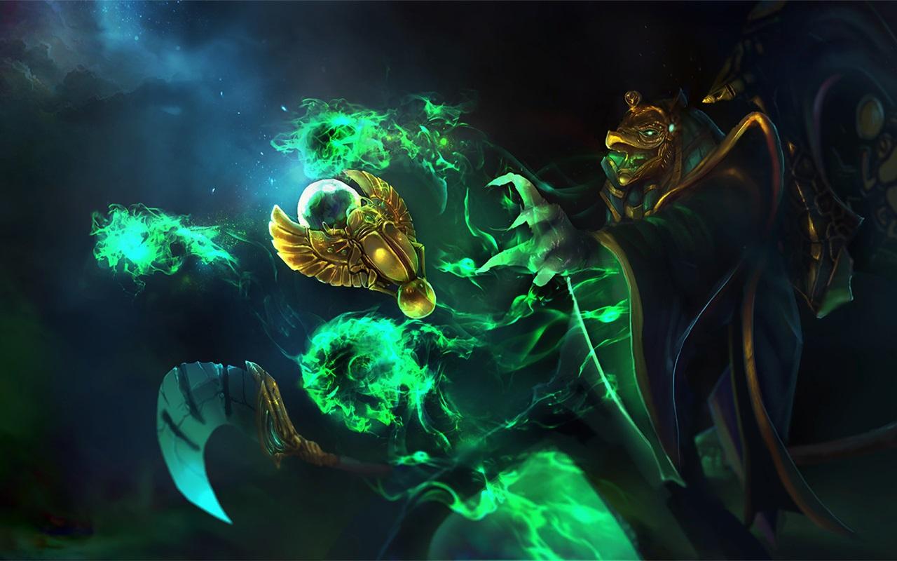 Necrophos Wrath of Ka Dota 2
