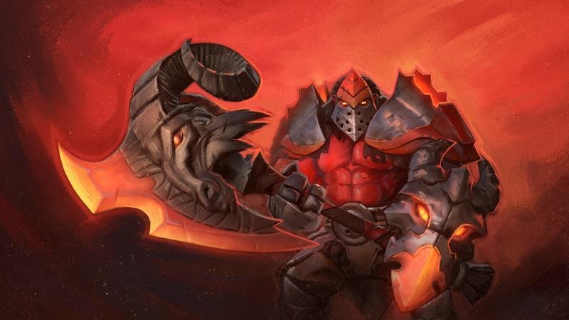 Axe The Ram's Head Armaments Dota 2