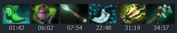 Typical core item build and some extra - Match ID: 3293332936 - Image:Dotabuff