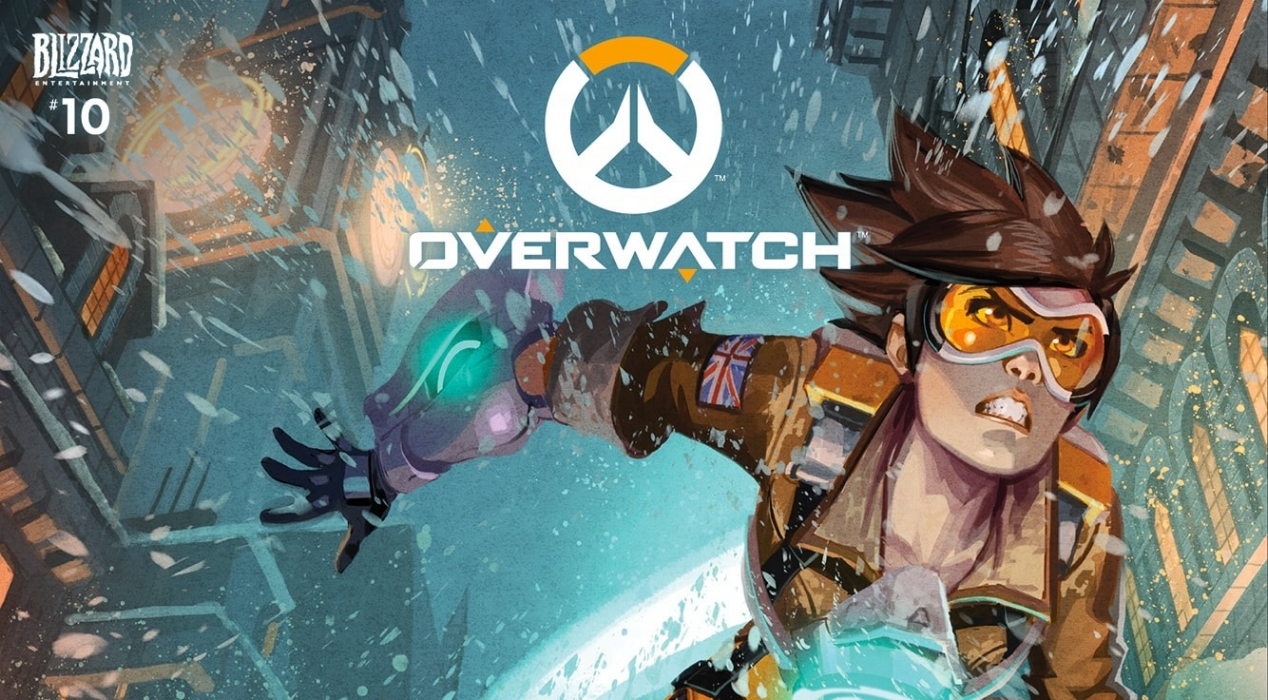 Tracer's Reflections web comic - Image: Blizzard