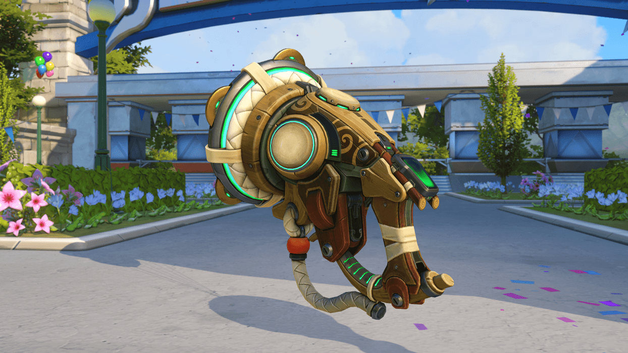 Lucio Capoeira gun Blizzard World Overwatch