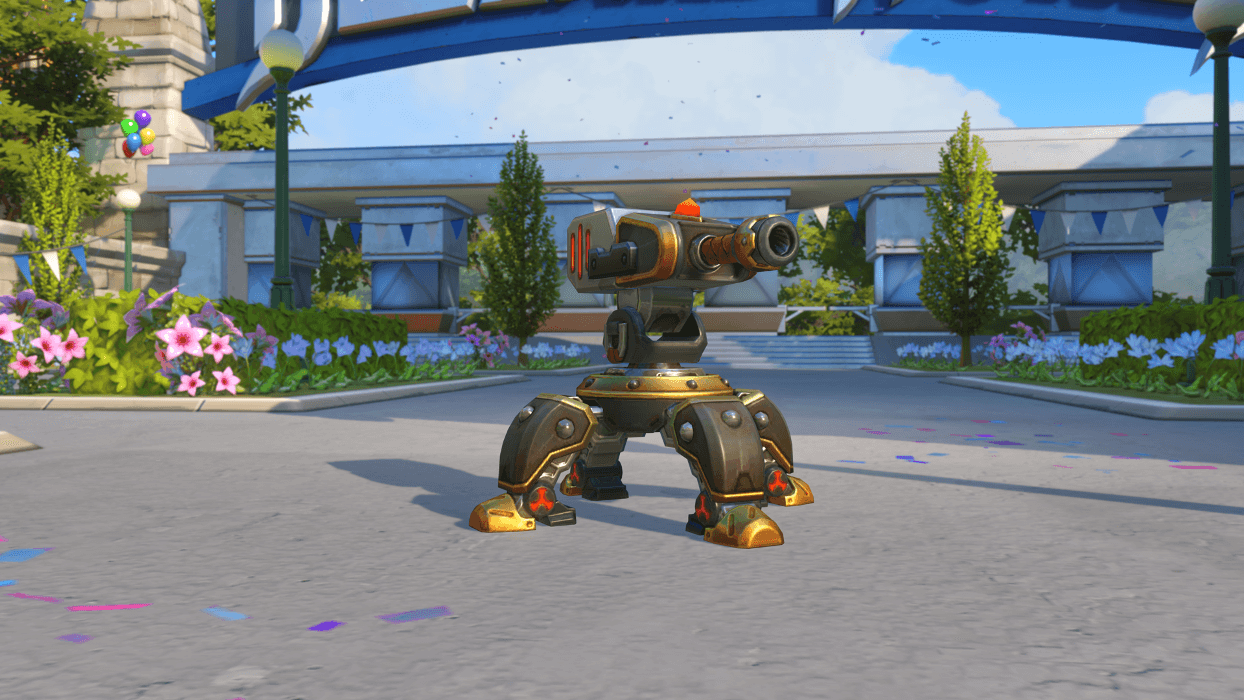 Torbjorn Magni turret Blizzard World Overwatch