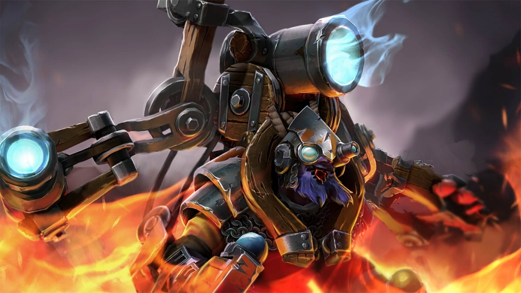 Fortified Fabricator loading screen for Tinker - Image: Valve