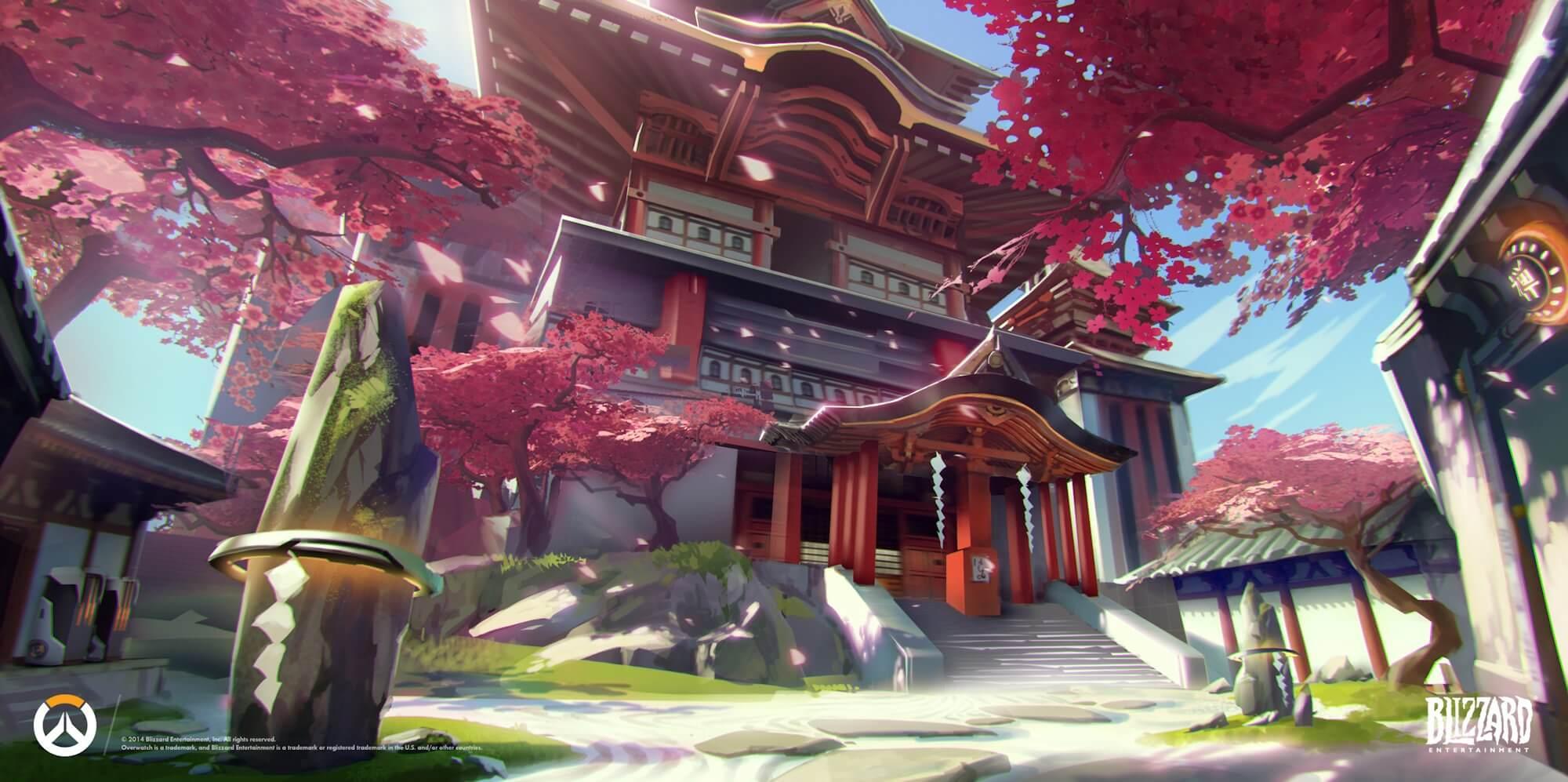 Best Torbjorn turret placement spots on Hanamura | Esports Tales