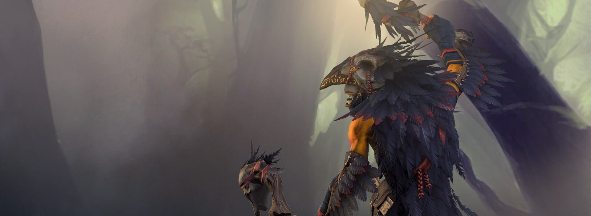 True Crow loading screen for Shadow Shaman - Image: Valve