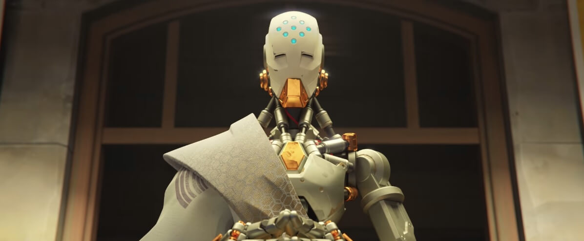 """Image from Overwatch animated short """"Alive"""""""
