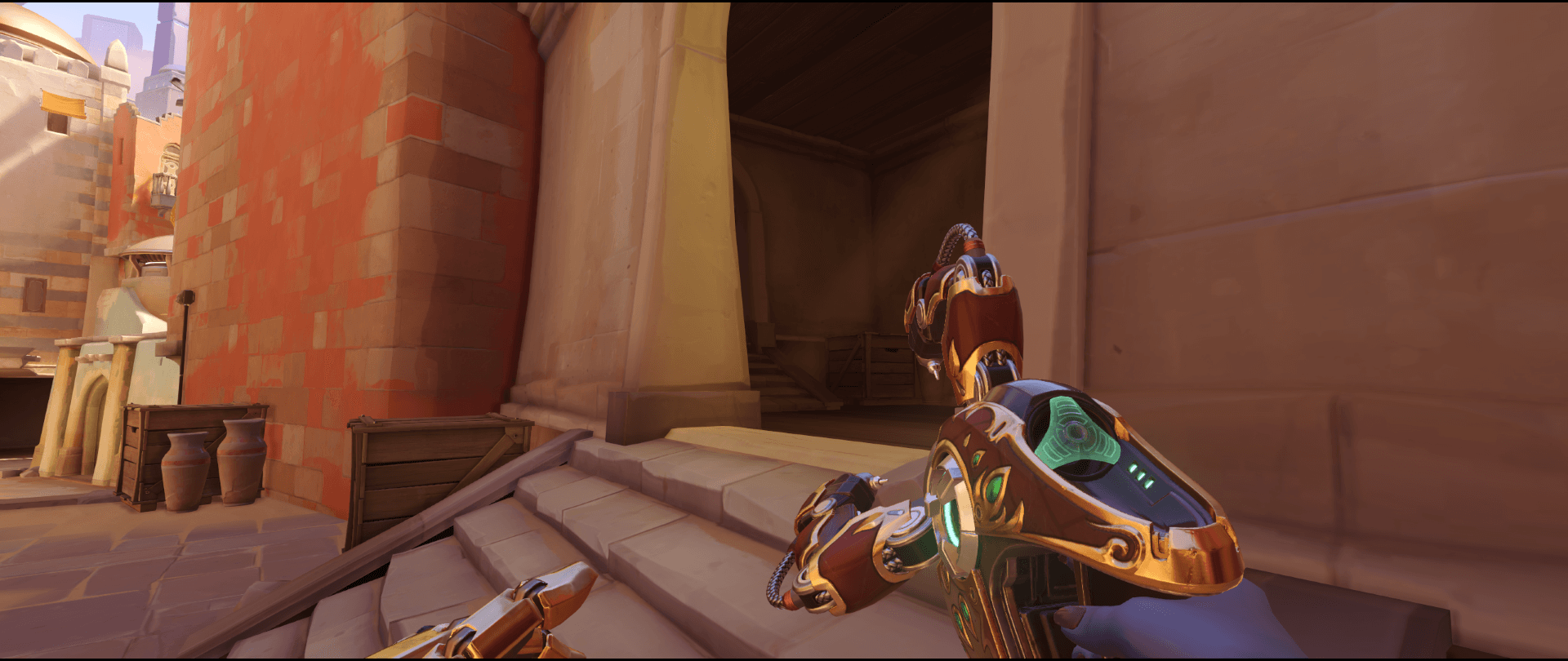 Symmetra shield generator spot Temple of Anubis main spot point one 2.png