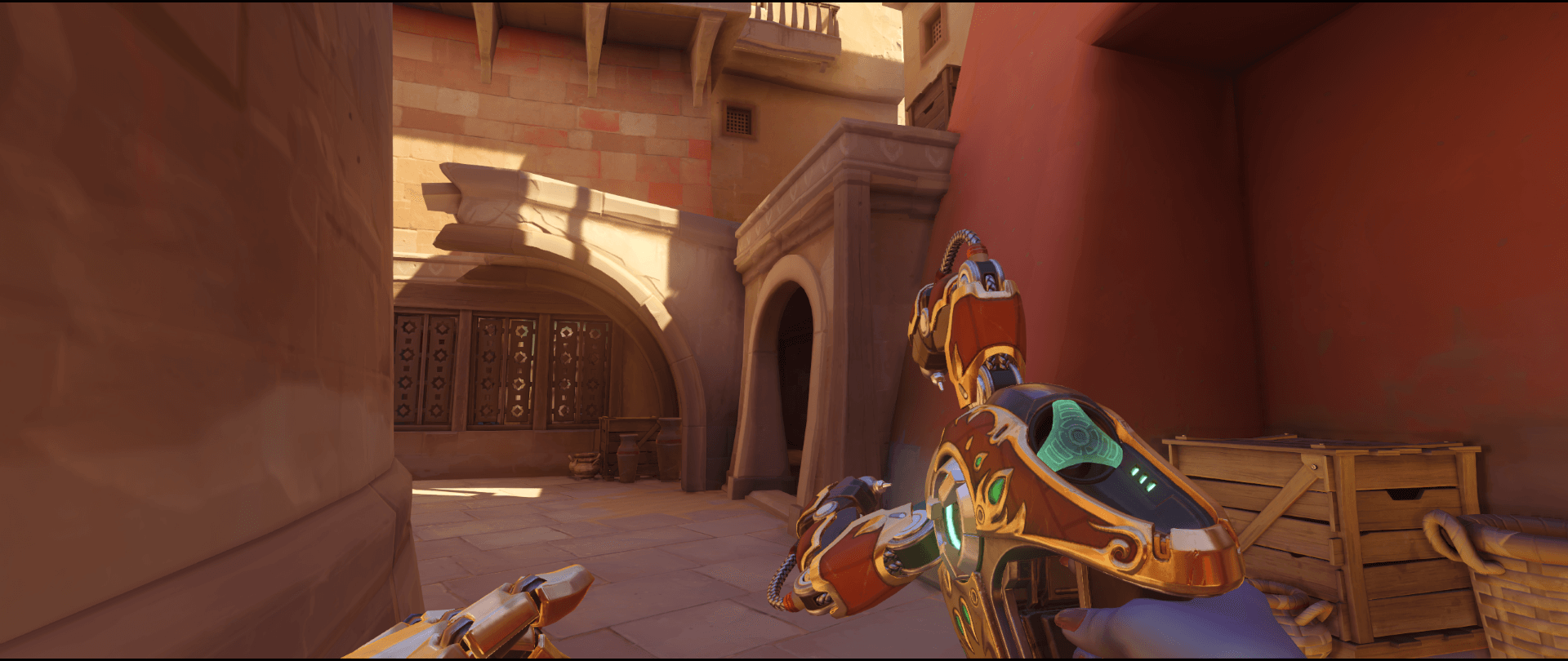 Symmetra shield generator spot Temple of Anubis room classic point one 1.png