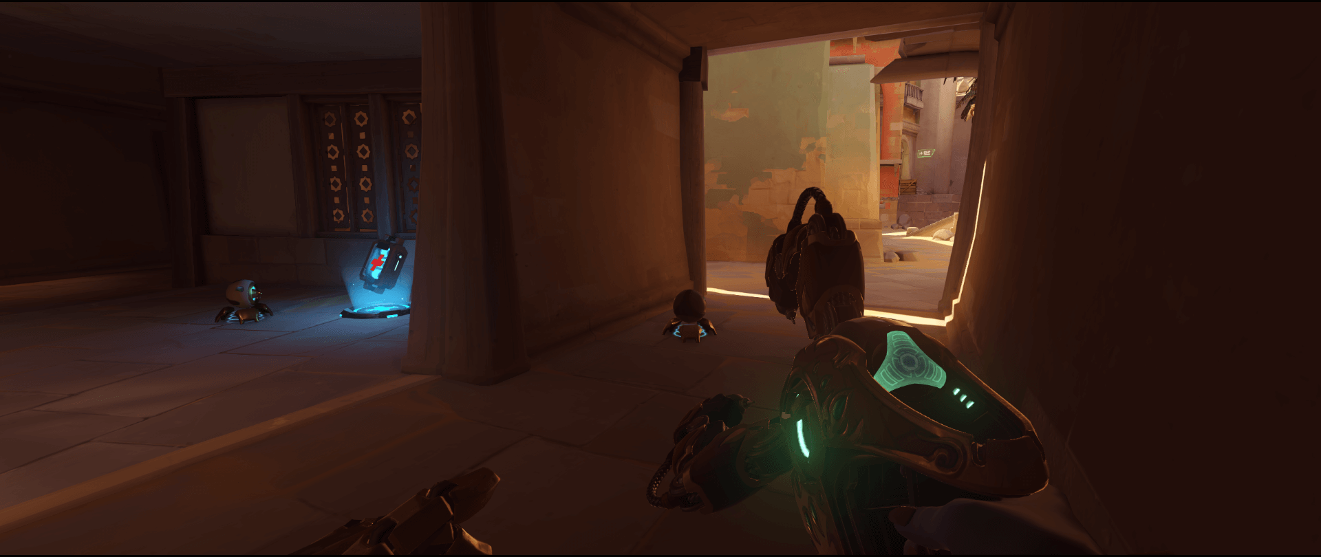 Symmetra shield generator spot Temple of Anubis room classic point one 3.png