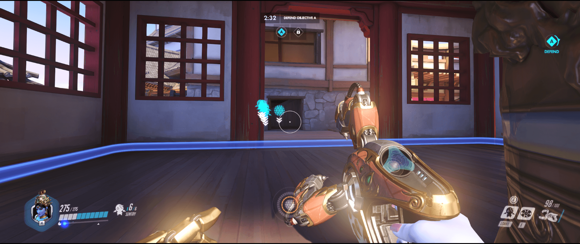 Symmetra Shield Generator spot Hanamura secondary range point one.png