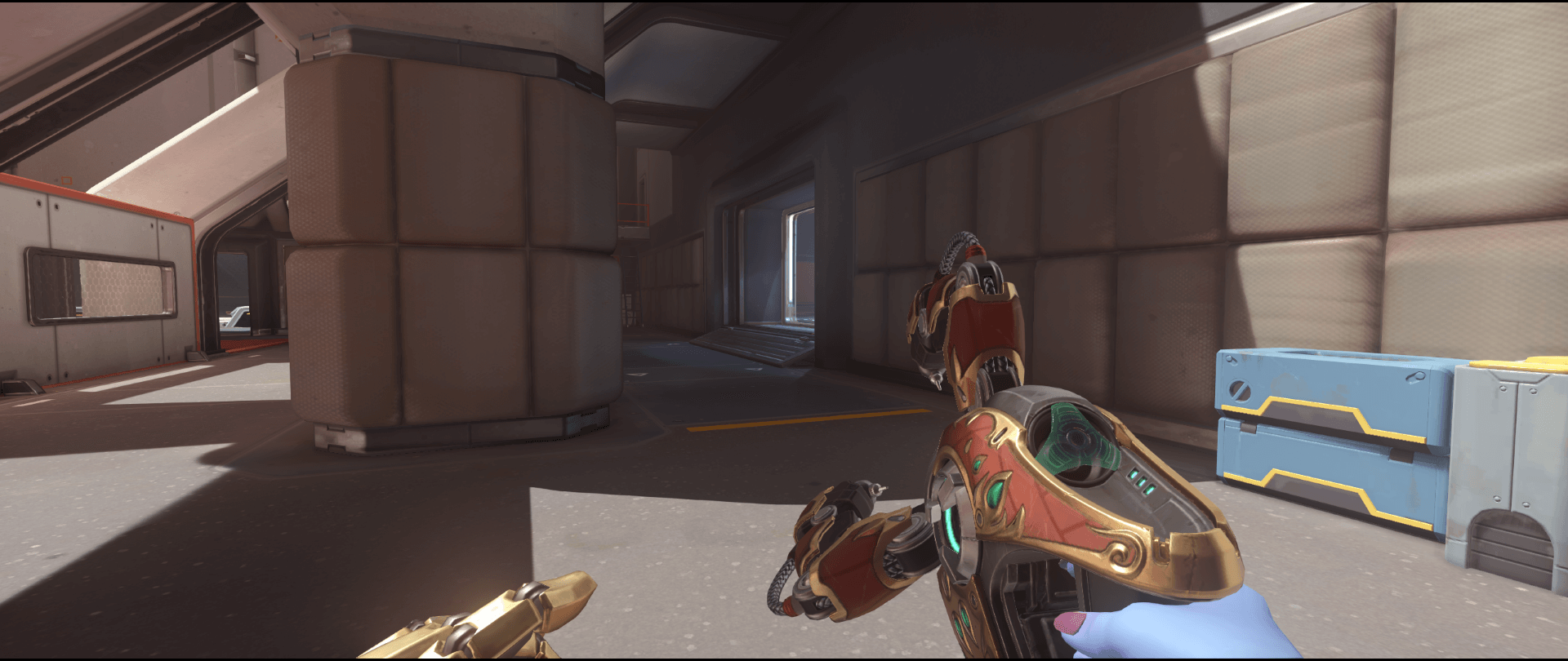 Symmetra shield generator spot Horizon Lunar Colony main second point right view.png