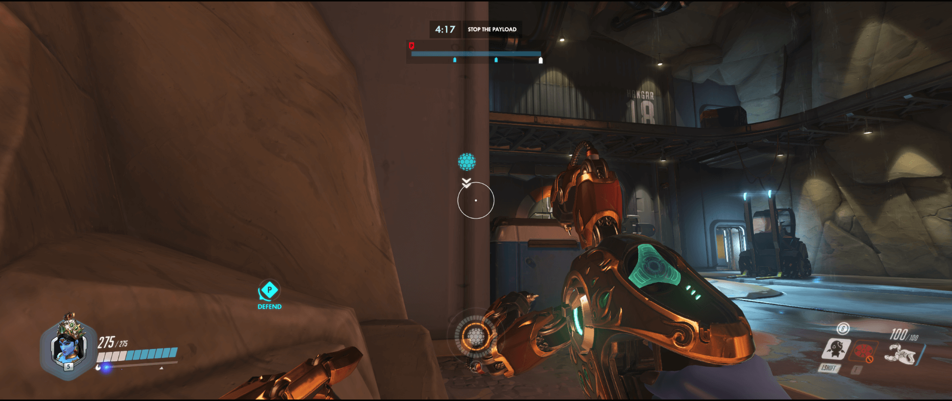 Symmetra shield generator spot Watchpoint Gibraltar main first point range.png