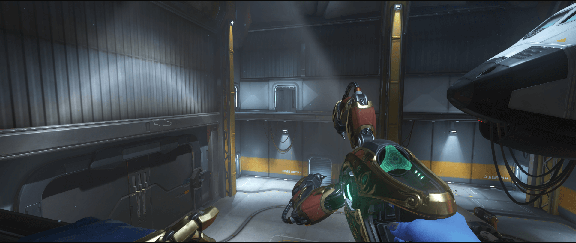 Symmetra shield generator spot Watchpoint Gibraltar high ground first point.png