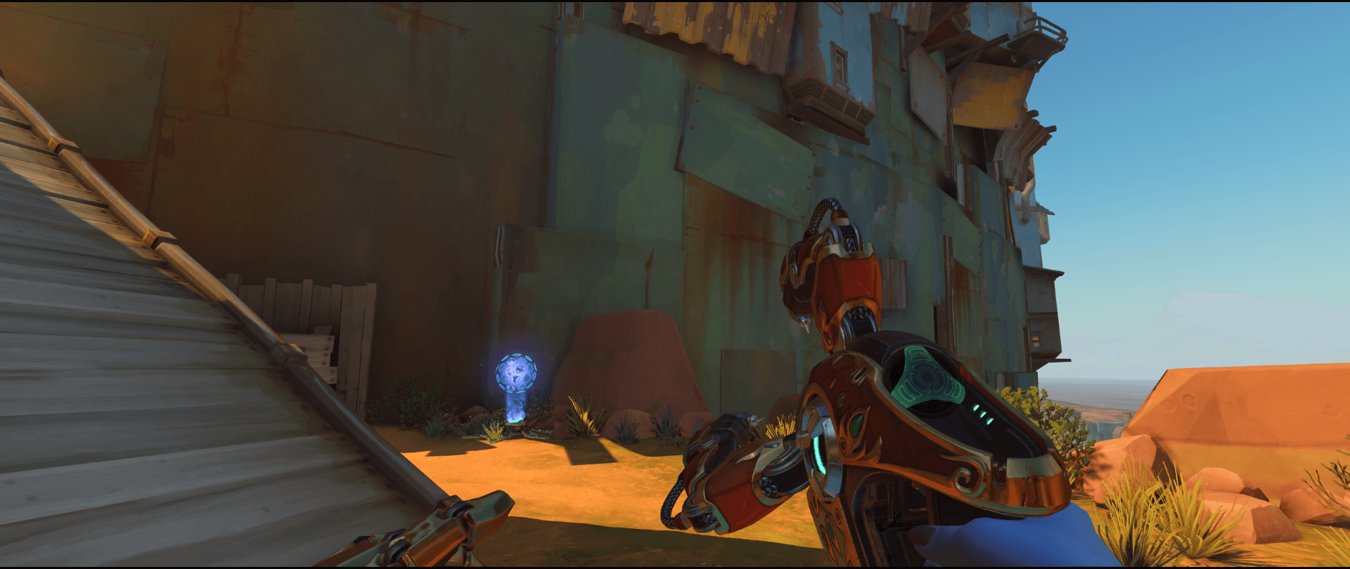 Symmetra Shield Generator spot Junkertown second point attack another option.png