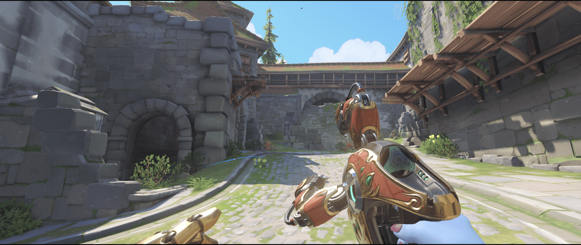 Symmetra shield generator spot Eichenwalde  side spot visibility first point.png