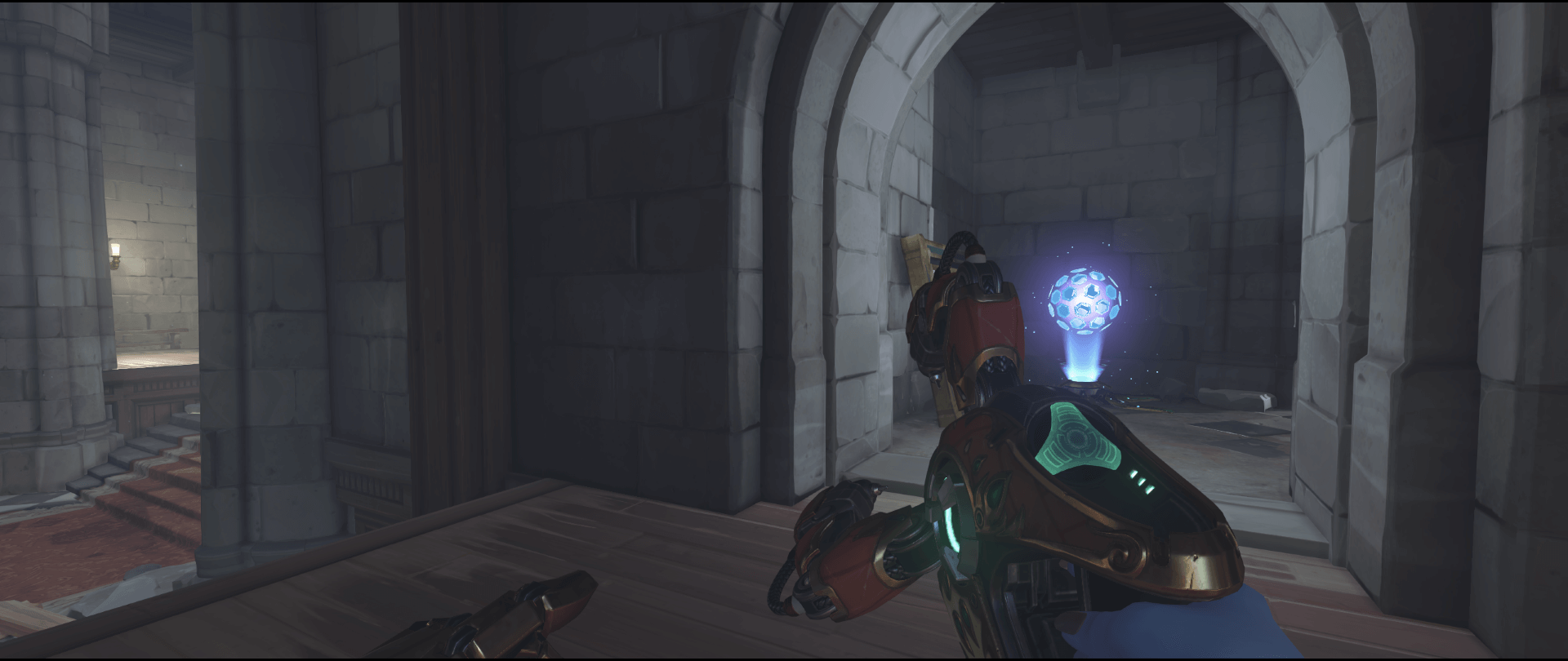 Symmetra shield generator spot Eichenwalde main second point.png