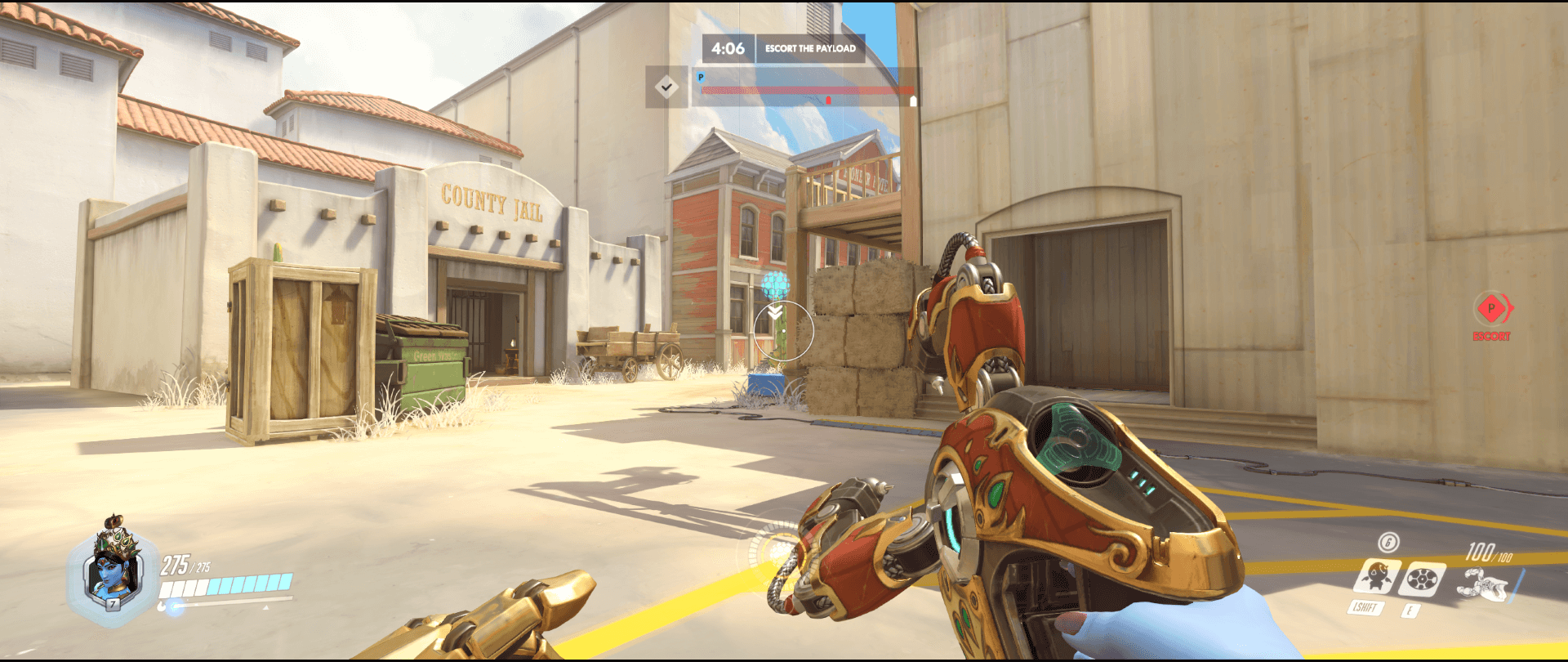 Symmetra shield generator spot Hollywood  main range 3 second point.png
