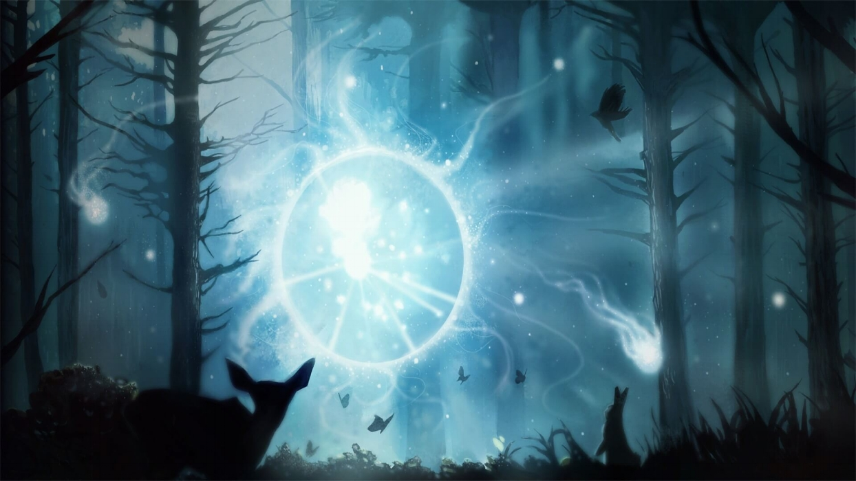 Tethered Spirits loading screen for Io - Valve