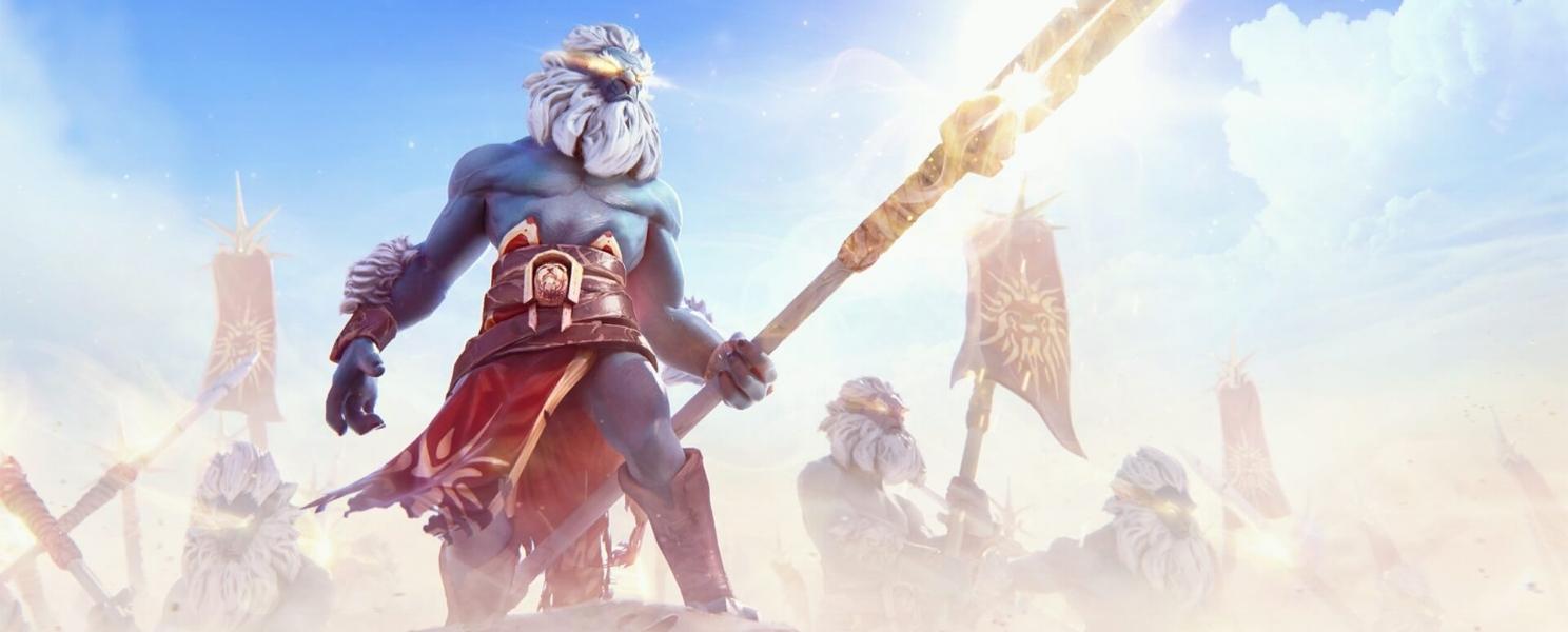 Vengeance of the Sunwarrior loading screen for Phantom Lancer - Valve