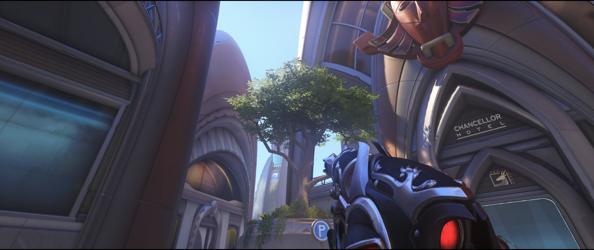 Tree spawn kill defense Widowmaker sniping spot Numbany Overwatch.jpg