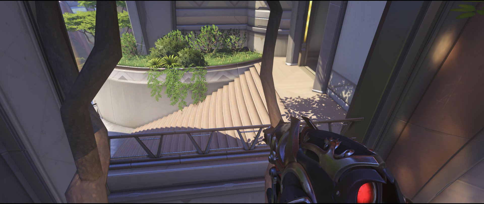 Escape spawn kill tree defense Widowmaker sniping spot Numbany Overwatch.jpg