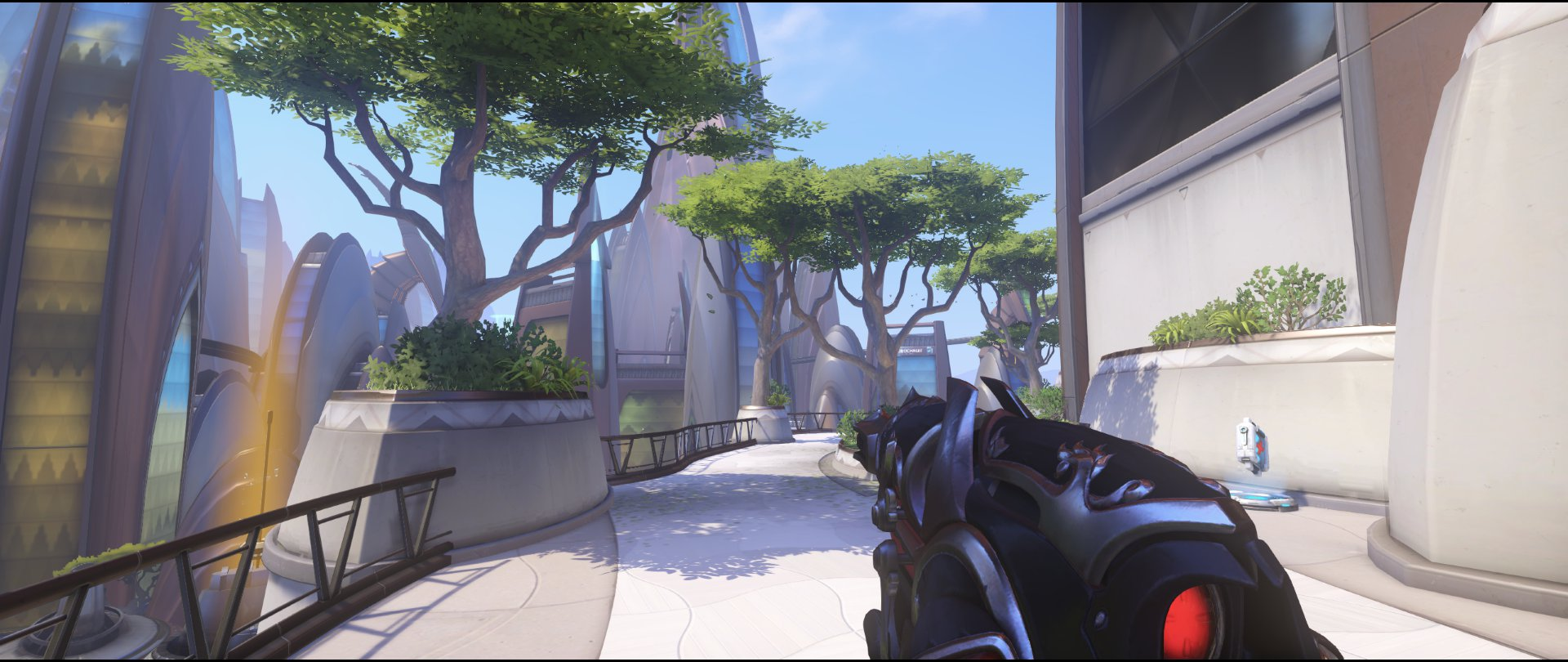 Several trees spawn kill defense Widowmaker sniping spot Numbany Overwatch.jpg