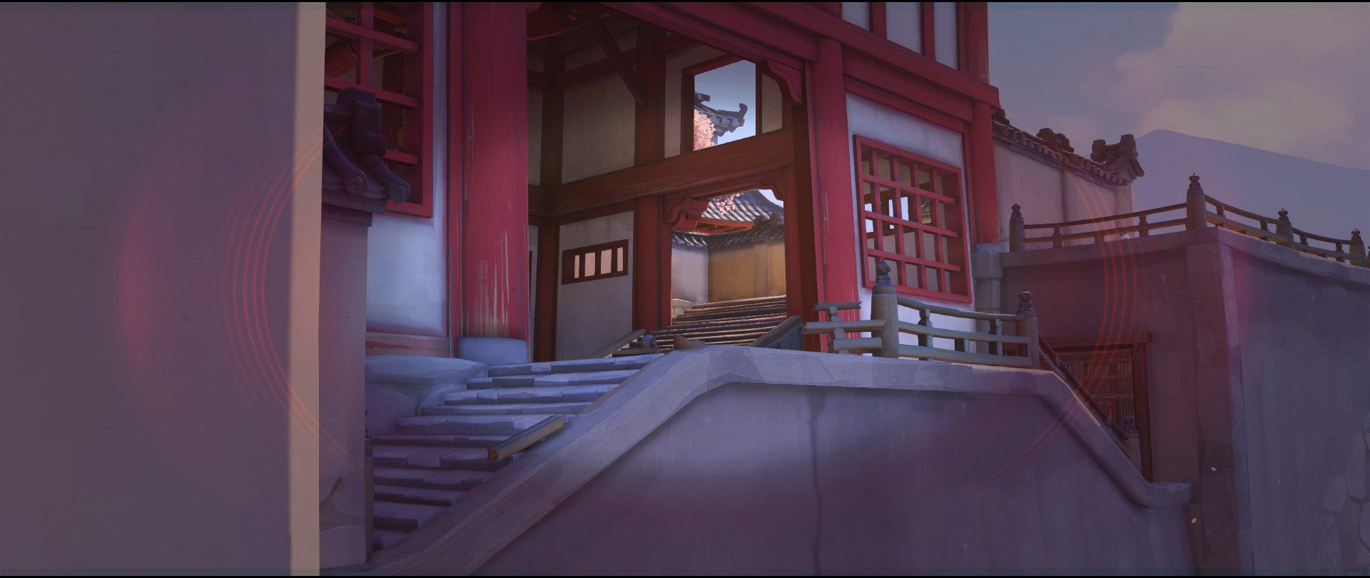 Back first point view defense Widowmaker sniping spot Hanamura Overwatch.jpg
