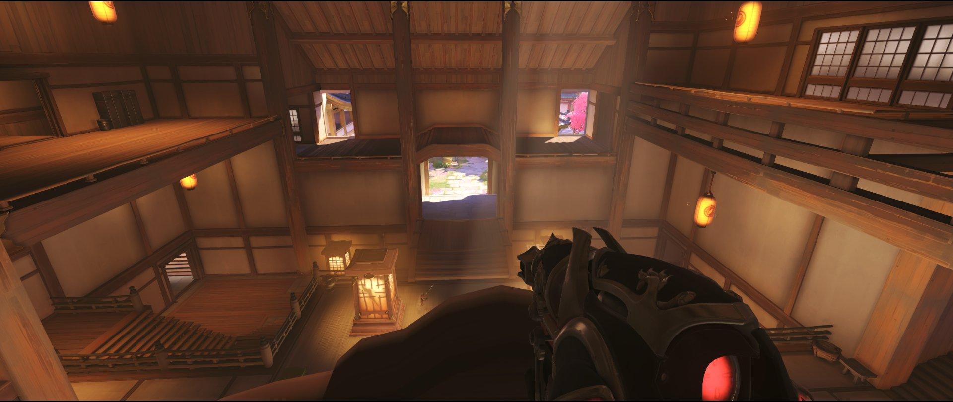 Roof defense Widowmaker sniping spot Hanamura Overwatch.jpg