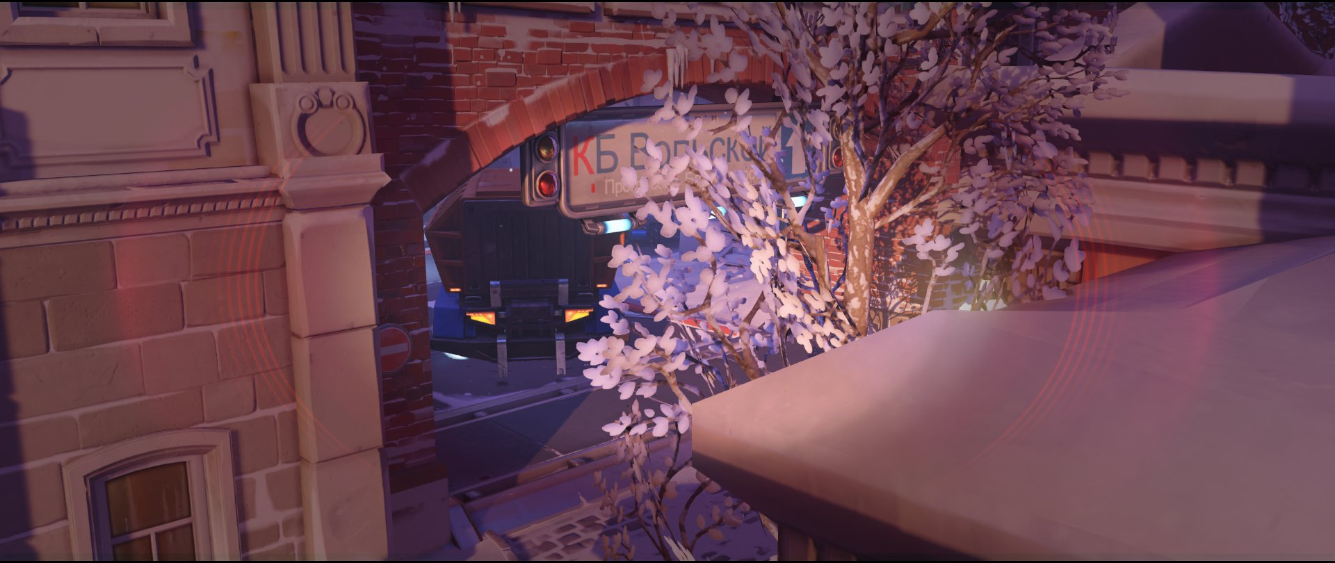 Shrine extreme left view attack sniping spot Widowmaker Volskaya Industries Overwatch .jpg