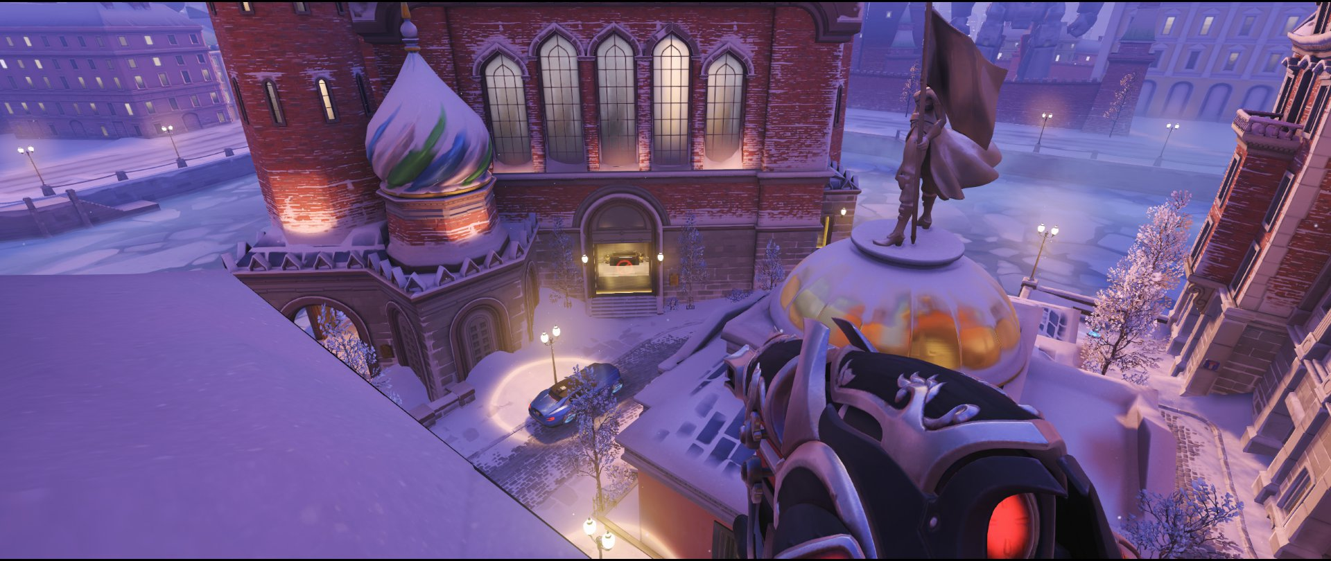 Manor high ground view defense sniping spot Widowmaker Volskaya Industries Overwatch.jpg