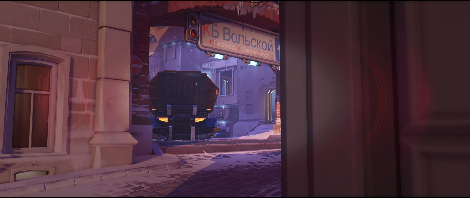 Shrine inside attack view sniping spot Widowmaker Volskaya Industries Overwatch.jpg